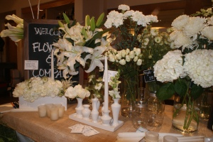 An assortment of flowers available for purchase specifically for Dîner en Blanc Philadelphia on August 22, 2013.  Please call Flowers & Company to place your order (215) 988-9171