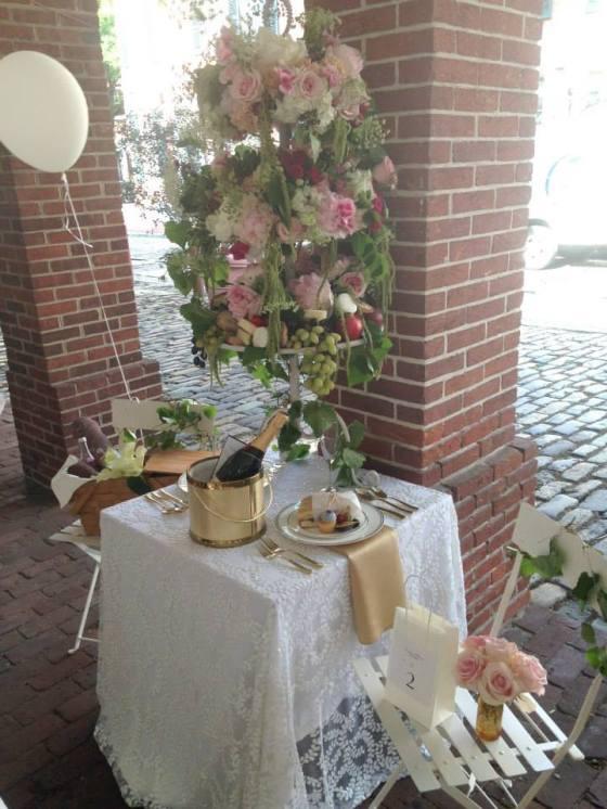 Cristina Petrescu's Logan Square table
