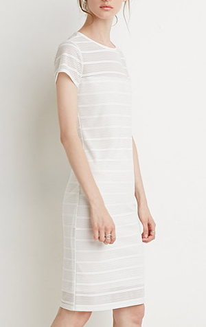 forever-21-white-stripe-dress